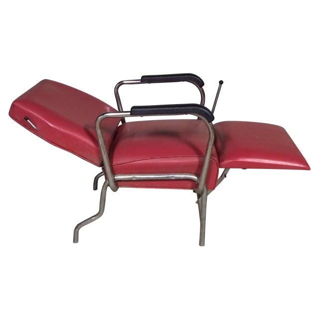 Vintage Reclining Salon Shampoo Chair - Image 1 of 7