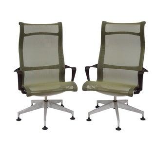 Herman Miller Setu Lounge Chairs - Pair