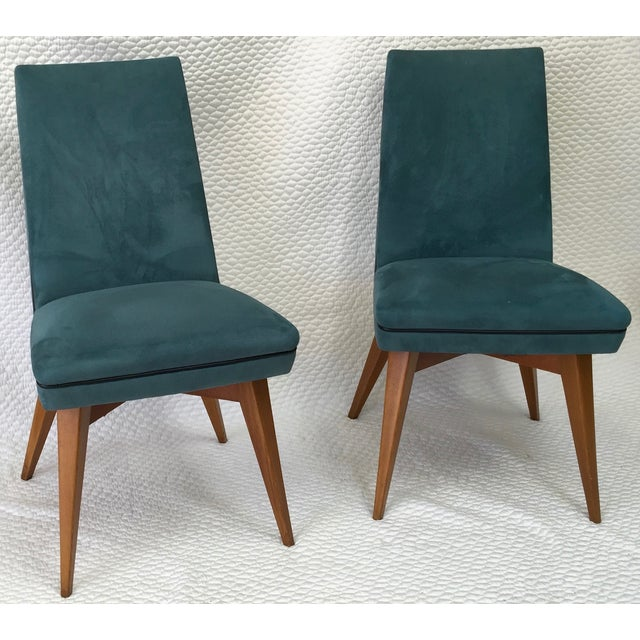 Mid-Century Erton Dining Chairs - Set of 6 - Image 4 of 9