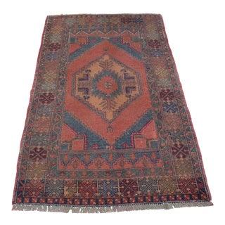 Turkish Oushak Carpet - 3′6″ × 5′6″