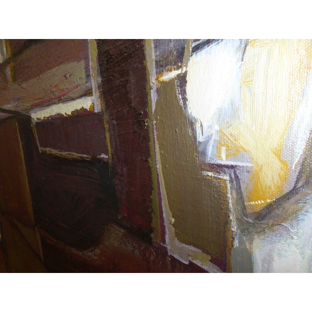 Mario De Ferrante Abstract Oil On Canvas Painting - Image 8 of 9