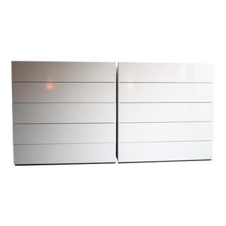 Niels Bendtsen Brix Five-Drawer Dresser - 2 sets