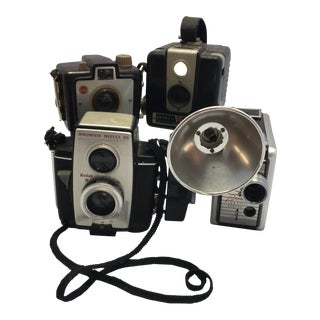 Vintage Brownie Cameras - Set of 4