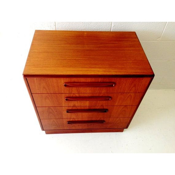 G-plan Mid-Century Modern Chest of Drawers - Image 4 of 6
