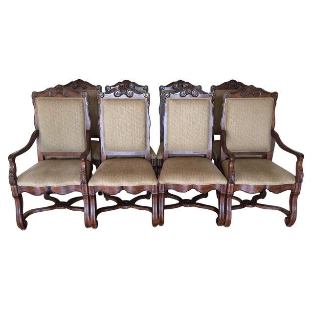 Hekman Loire Valley French Country Dining Chairs - Set of 8 - Image 1 of 3