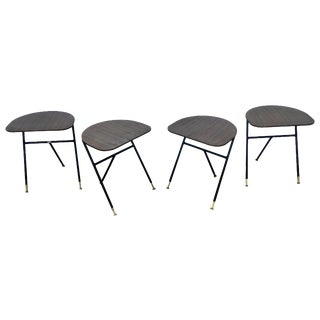 Tri-Leg Stacking Tables - Set of 4