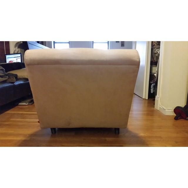 EQ3 Crush Velvet Chaise Lounge - Image 3 of 5