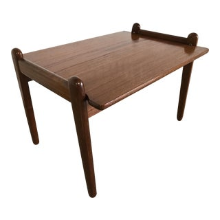 Vatne Lenestolfabrikk Danish Modern Teak Tray Table