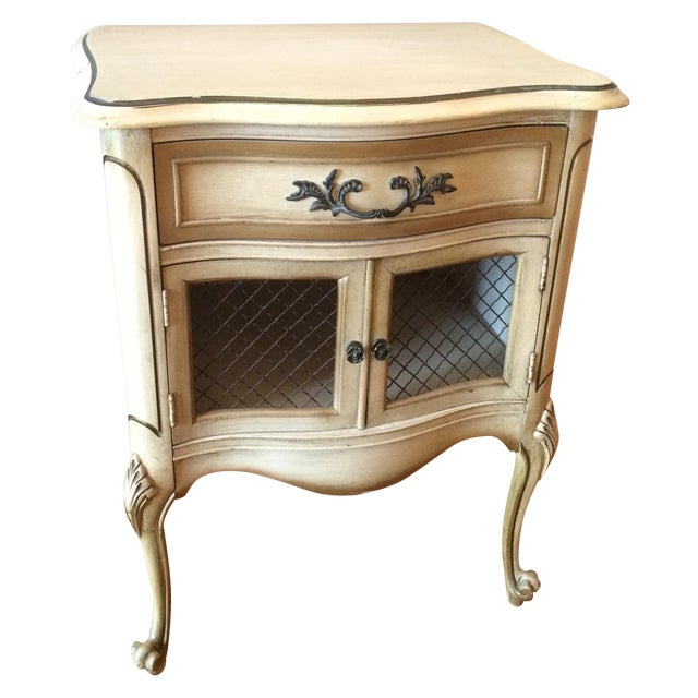 French Provincial Nightstand - Image 1 of 8