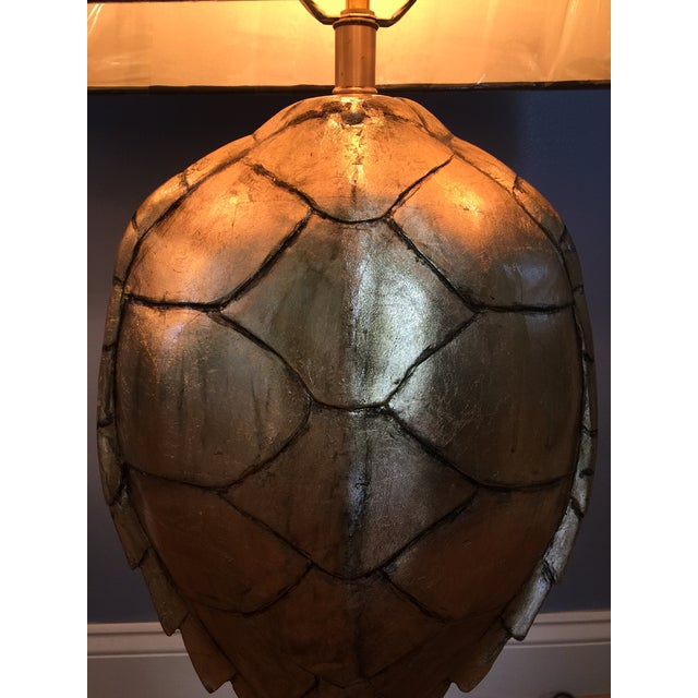 Magnificent Hand Crafted Faux Tortoise Lamps - 2 - Image 5 of 9