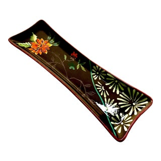 Tracy Porter Hand Painted Vivre Collection Tray