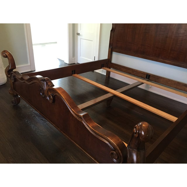 Hickory Venetian King Bed - Image 5 of 8