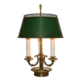 Vintage French Bouillotte Lamp