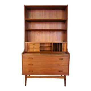 Original Danish Nexo Teak Secretary / Bookcase