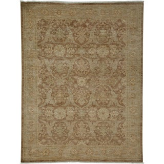 """Oushak Hand Knotted Area Rug - 5'2"""" X 6'9"""""""