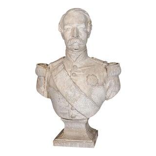 Plaster Bust of Napoleon III