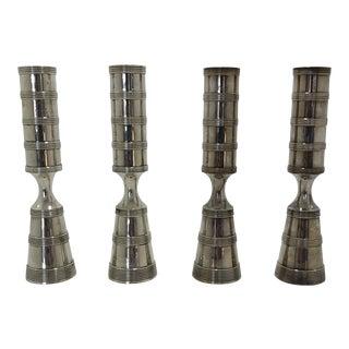 Vintage Dansk Candlesticks - Set of 4