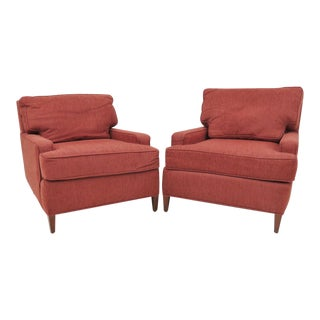 Mid Century Club Chairs - A Pair