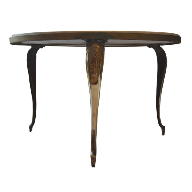 Vintage Pietra Dura Mosaic Side Table - Image 4 of 8