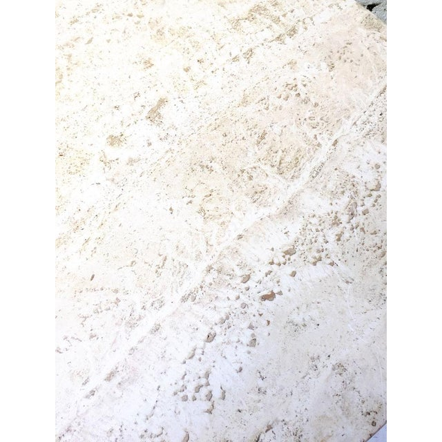 Vintage Travertine Ombre Table - Image 5 of 7