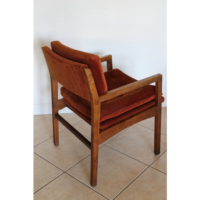 Mid-Century Cube Chairs - A Pair - Image 7 of 11