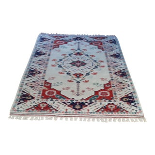 Antique Turkish Anatolian Hand Knotted Rug 7′ X 5'