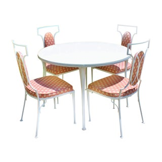 1940s Outdoor Dining Set