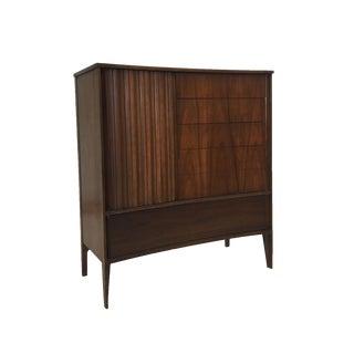 Mid Century Modern Tall Gentleman's Dresser by Unagusta