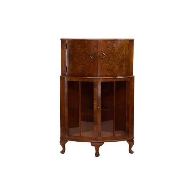 Image of 1940's Art Deco Cocktail Cabinet