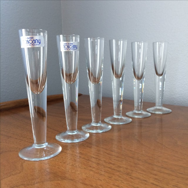 Vintage Cordial Glasses - Set of 6 - Image 7 of 11