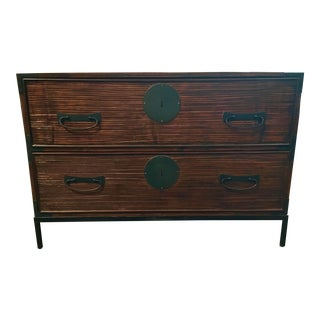Henredon Asian Modern Bamboo Style Katana Chest