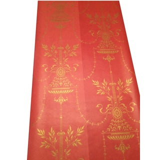 Cole & Son Dorset 2-Toned Red Wallpaper - 10 Rolls