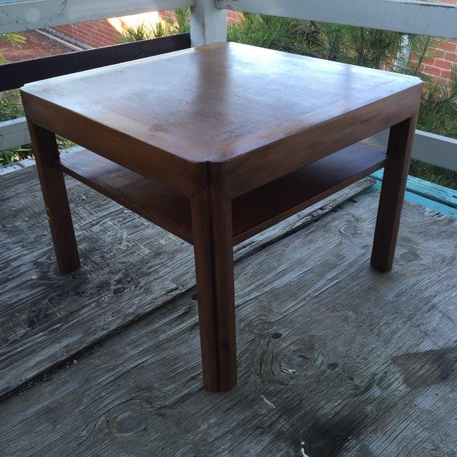 Mid-Century Walnut Side Table - Image 5 of 7