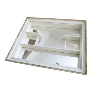 French Country Mirrored Shadowbox
