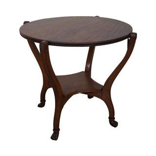 Hunzinger Oak Flip Top Game Table