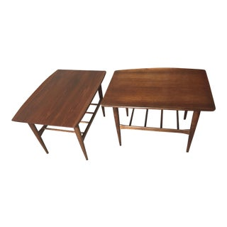 Bassett Surfboard Side Tables: A Pair