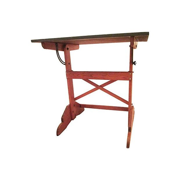 Image of 1960s Drop Top Drafting Table