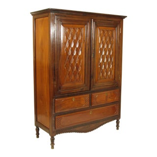 Anglo-Indian Rosewood Armoire