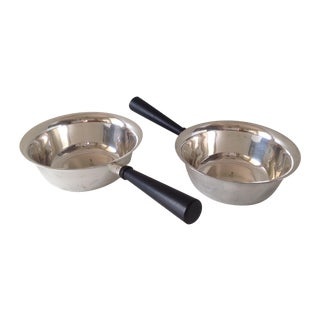 Sheffield Silverplate Sauce Servers - A Pair