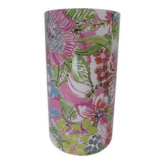 Lilly Pulitzer Flower Vase