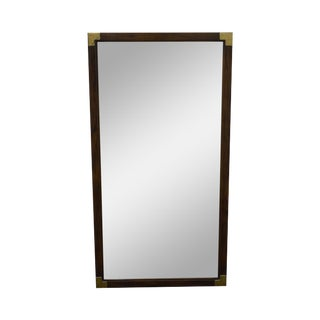 Henredon Vintage Campaign Style Mirror