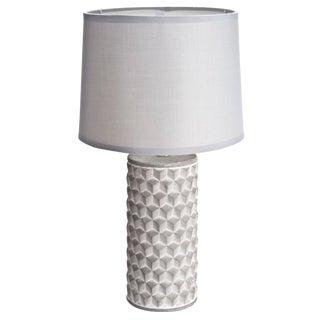 Cast Concrete Cubist Lamp