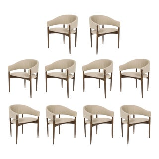 Set of 10 Enroth Dining Chairs