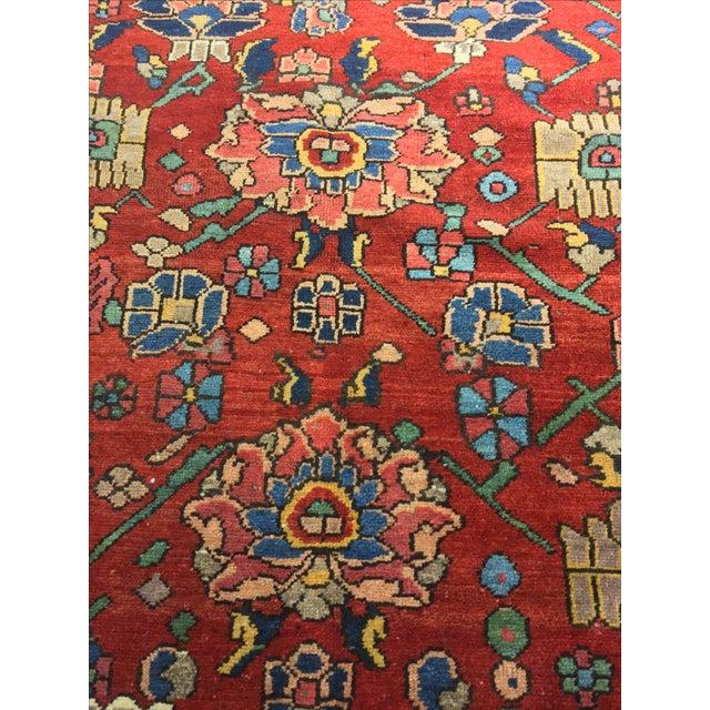 Vintage Persian Bactiari Rug - 6′9″ × 10′2″ - Image 8 of 11