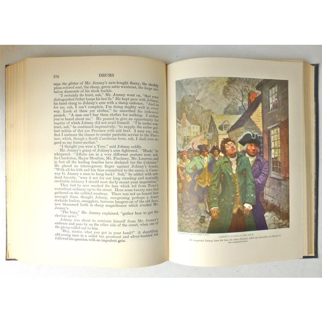"""""""Drums"""" Book Illustrated by N.C. Wyeth, 1928 - Image 8 of 11"""
