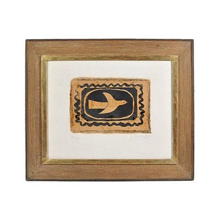 """Vintage """"Bird Vii"""" Lithograph by Georges Braques"""
