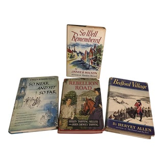 Mid-Century Dust Jacket Novels - Set of 4