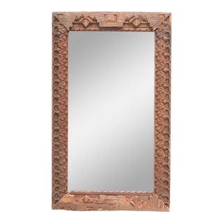 Carved Himalayan Tribal Mirror