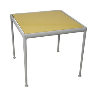 Richard Schultz Vintage Yellow Enameled Dining Table