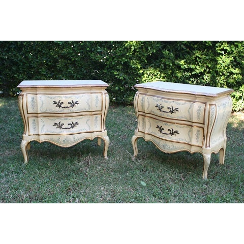 John Whittencomb French Nightstands - A Pair - Image 3 of 5